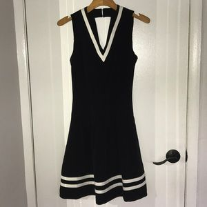 Black and White H&M Dress